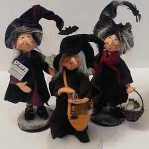 Annalee Witches Retired Lot
